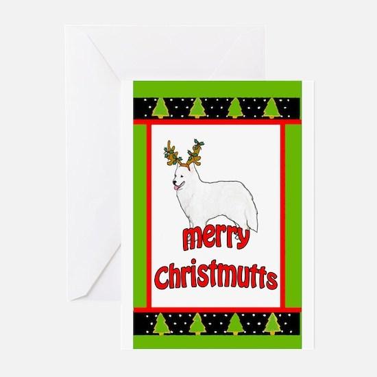 Samoyed christmas Greeting Cards (Pk of 10)