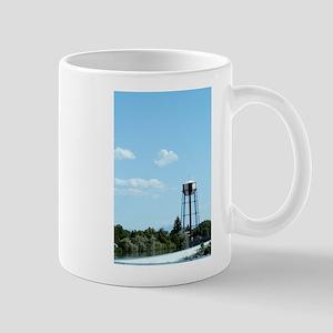 Water Tower - Blue Mug