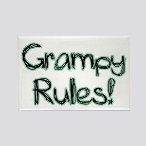 Grampy Rules! Rectangle Magnet