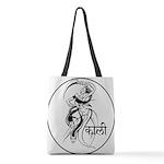 goddess kali Polyester Tote Bag