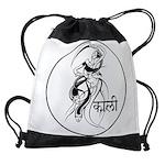 goddess kali Drawstring Bag