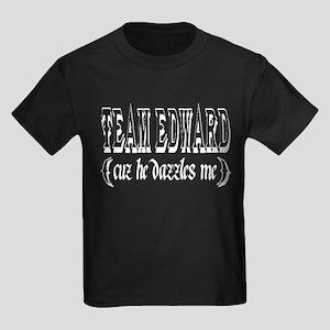 edward Cullen t-shirts Kids Dark T-Shirt