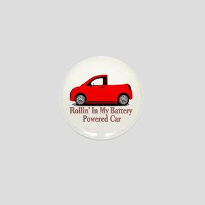 Battery Powered Car Mini Button