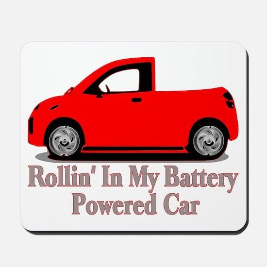 Battery Powered Car Mousepad