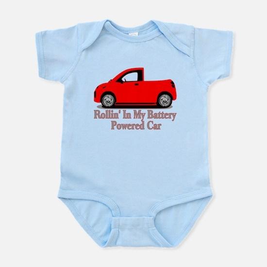 Battery Powered Car Infant Bodysuit