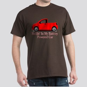 Battery Powered Car Dark T-Shirt