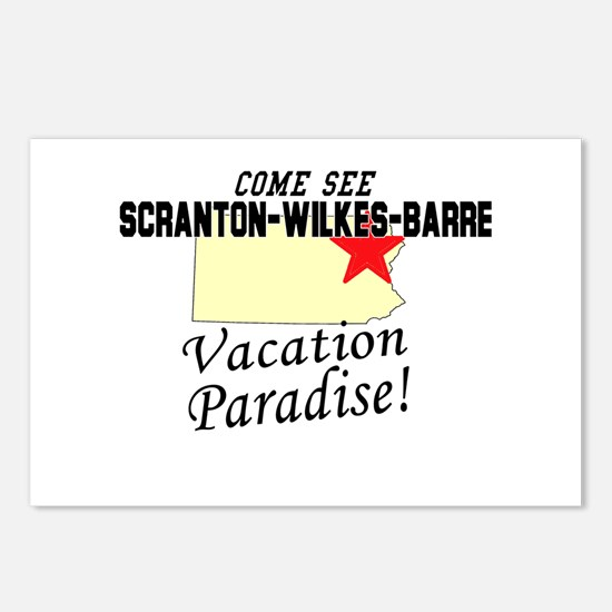 Come See Scranton-Wilkes-Barr Postcards (Package o