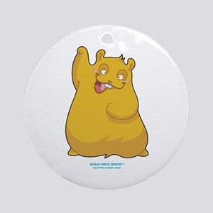 Henry the Hamster Ornament (Round)