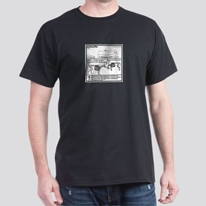 Los Muertos de B'Ham Dark T-Shirt