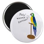 Poly? Wanna Partner? Magnet