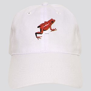 Red Arrow-Poison Frog Cap