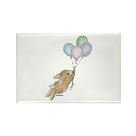 HappyHoppers® - Bunny - Rectangle Magnet (100 pack