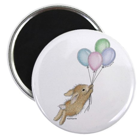 """HappyHoppers® - Bunny - 2.25"""" Magnet (100 pack)"""