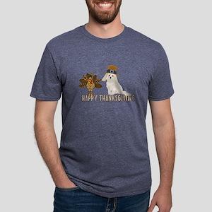 Cockapoo and Turkey Happy Thanksgiving T-Shirt