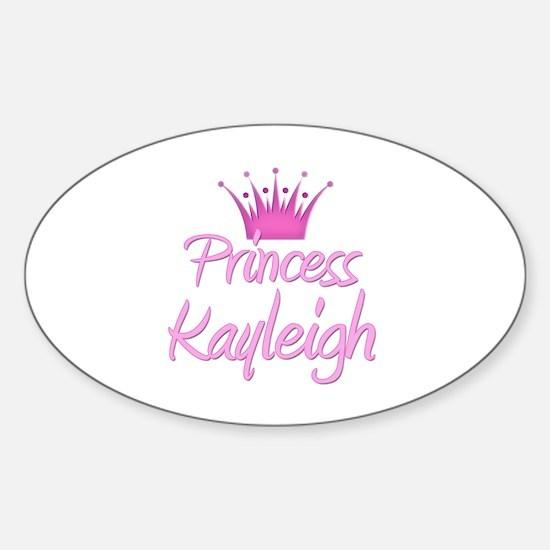 Princess Kayleigh Oval Decal