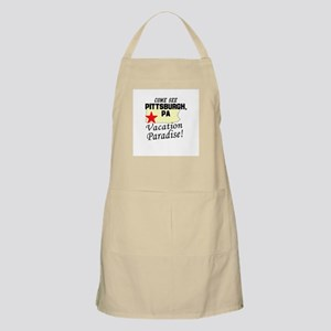 Come See Pittsburgh, PA Vacat BBQ Apron