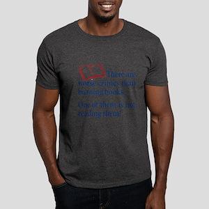Book Burning - Dark T-Shirt
