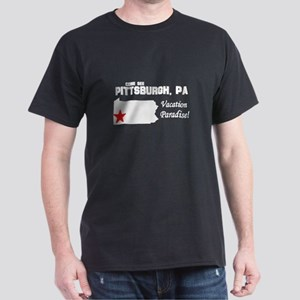 Come See Pittsburgh, PA Vacat Dark T-Shirt