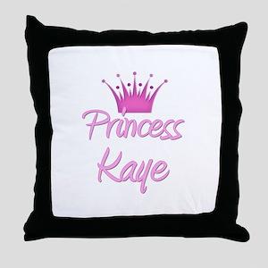 Princess Kaye Throw Pillow