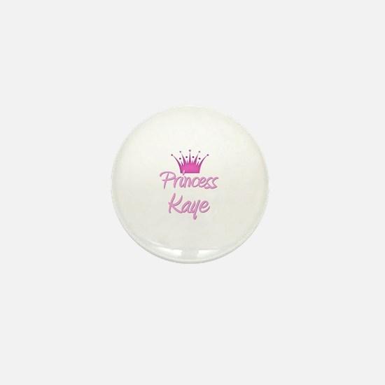 Princess Kaye Mini Button