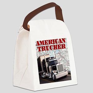 American Trucker Canvas Lunch Bag