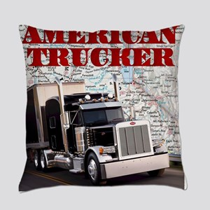 American Trucker Everyday Pillow