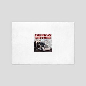American Trucker 4' x 6' Rug