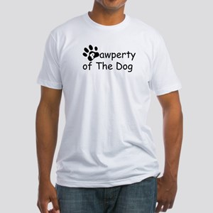 Pawperty - Fitted T-Shirt