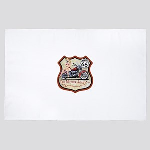 Route 66 The Mother Road 4' x 6' Rug