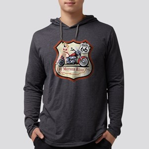Route 66 The Mother Road Long Sleeve T-Shirt