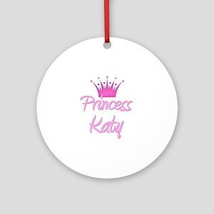 Princess Katy Ornament (Round)