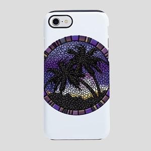 Purple Palms iPhone 8/7 Tough Case