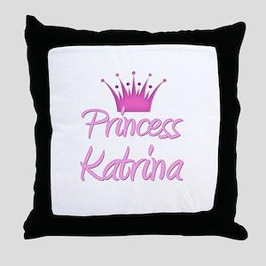 Princess Katrina Throw Pillow