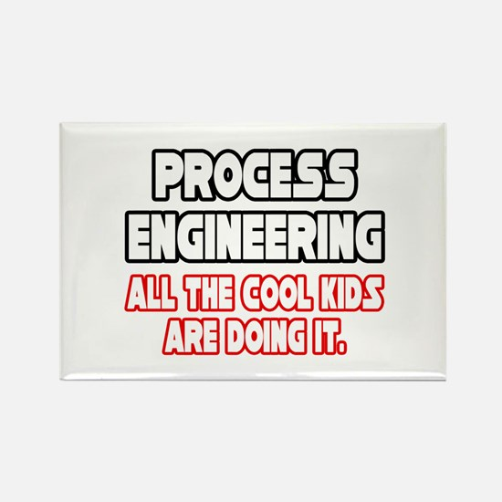 """""""Process Engineering...Cool"""" Rectangle Magnet"""