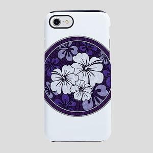 Purple Hibiscus iPhone 8/7 Tough Case