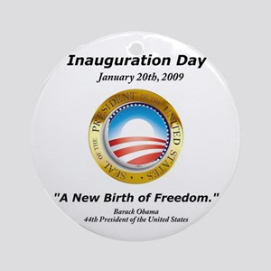 New Birth of Freedom Ornament (Round)
