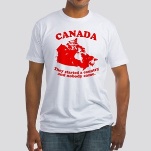 Poor Canada Fitted T-Shirt
