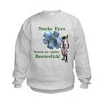 Snake Eyes Kids Sweatshirt