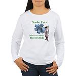 Snake Eyes Women's Long Sleeve T-Shirt