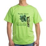 Snake Eyes Green T-Shirt