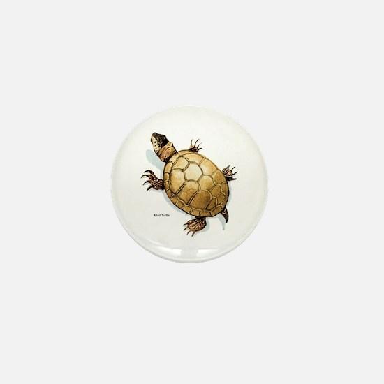 Mud Turtle Mini Button