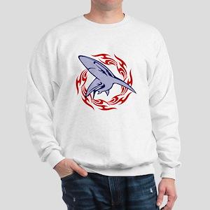 Flame Shark Sweatshirt
