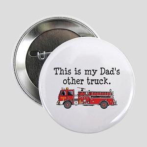 """Dads Firetruck 2.25"""" Button"""