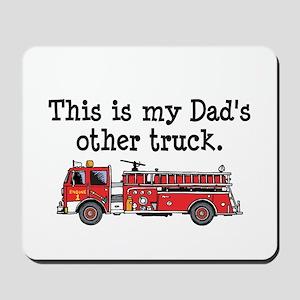 Dads Firetruck Mousepad