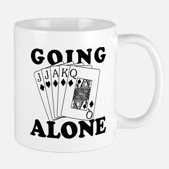 Euchre Going Alone/Loner Mug