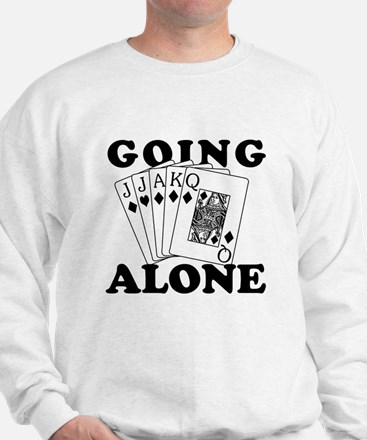 Euchre Going Alone/Loner Sweatshirt