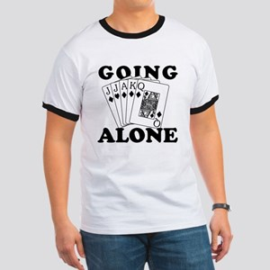 Euchre Going Alone/Loner Ringer T