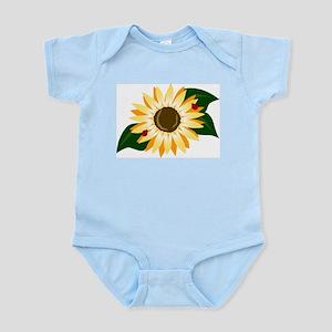 Sunflower & Ladybugs Infant Creeper