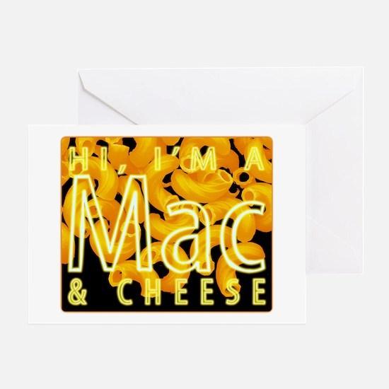 I'm a Mac & Cheese Greeting Card