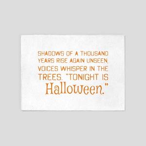 Shadows Of Thousand Years Tonight I 5'x7'Area Rug